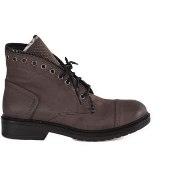 Pantofi Femei Ghete Mally 5037 Maro