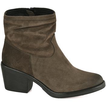 Pantofi Femei Botine Mally 5341 Verde