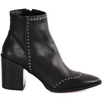 Pantofi Femei Botine Mally 6333 Negru
