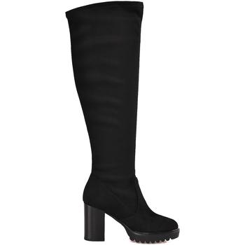 Pantofi Femei Cizme casual Mally 6389 Negru