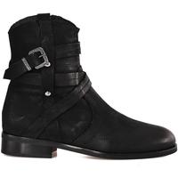 Pantofi Femei Botine Mally 6431 Negru