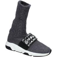 Pantofi Femei Pantofi sport stil gheata Studio Italia BLANCHE 08 Gri