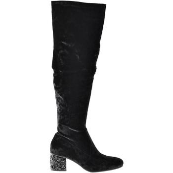 Pantofi Femei Cizme casual Elvio Zanon I1903B Negru