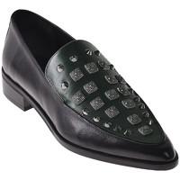 Pantofi Femei Mocasini Elvio Zanon I7703G Negru