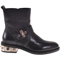 Pantofi Femei Botine Elvio Zanon I8405P Negru