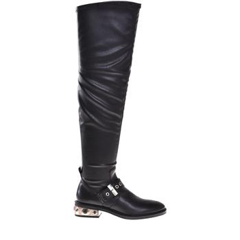 Pantofi Femei Cizme casual Elvio Zanon I8406P Negru