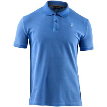 Îmbracaminte Bărbați Tricou Polo mânecă scurtă Lumberjack CM45940 007 516 Albastru
