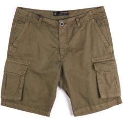 Îmbracaminte Bărbați Pantaloni scurti și Bermuda Key Up 2P16A 0001 Verde