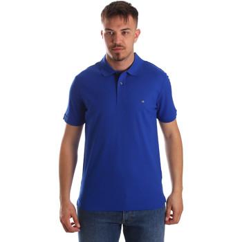 Îmbracaminte Bărbați Tricou Polo mânecă scurtă Calvin Klein Jeans K10K102758 Albastru