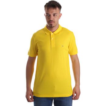 Îmbracaminte Bărbați Tricou Polo mânecă scurtă Calvin Klein Jeans K10K102758 Galben