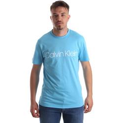 Îmbracaminte Bărbați Tricouri mânecă scurtă Calvin Klein Jeans K10K103078 Albastru