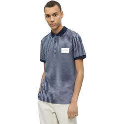 Îmbracaminte Bărbați Tricou Polo mânecă scurtă Calvin Klein Jeans K10K103364 Albastru