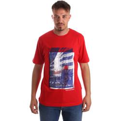 Îmbracaminte Bărbați Tricouri mânecă scurtă Calvin Klein Jeans J30J312285 Roșu