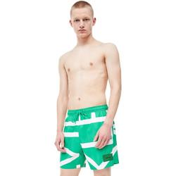 Îmbracaminte Bărbați Maiouri și Shorturi de baie Calvin Klein Jeans KM0KM00274 Verde