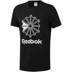 Îmbracaminte Bărbați Tricouri mânecă scurtă Reebok Sport DT8171 Negru