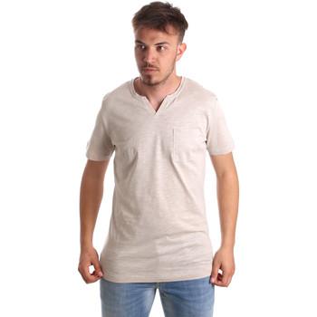 Îmbracaminte Bărbați Tricouri mânecă scurtă Antony Morato MMKS01487 FA100139 Bej