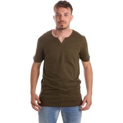 Îmbracaminte Bărbați Tricouri mânecă scurtă Antony Morato MMKS01487 FA100139 Verde