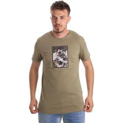Îmbracaminte Bărbați Tricouri mânecă scurtă Antony Morato MMKS01551 FA100144 Verde