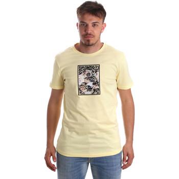 Îmbracaminte Bărbați Tricouri mânecă scurtă Antony Morato MMKS01551 FA100144 Galben