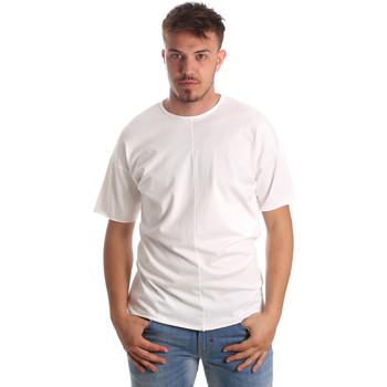 Îmbracaminte Bărbați Tricouri mânecă scurtă Antony Morato MMKS01564 FA100189 Alb