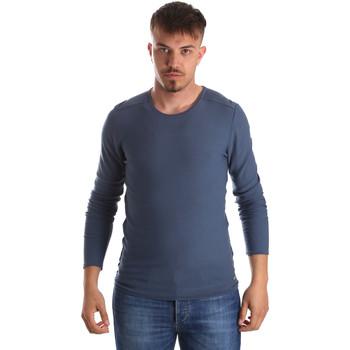Îmbracaminte Bărbați Pulovere Gaudi 911FU53013 Albastru