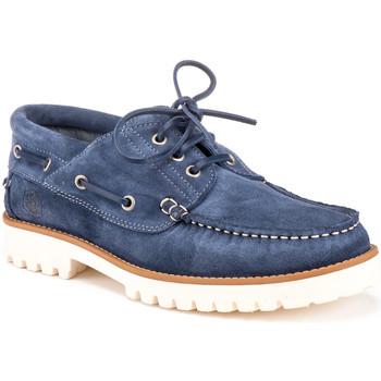 Pantofi Bărbați Pantofi barcă Lumberjack SM59304 001 A04 Albastru
