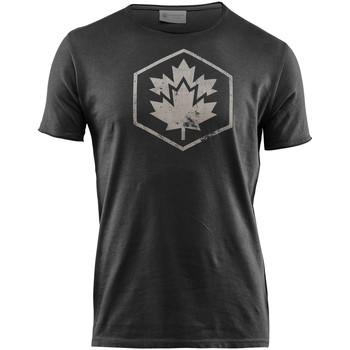 Îmbracaminte Bărbați Tricouri mânecă scurtă Lumberjack CM60343 002 509 Negru