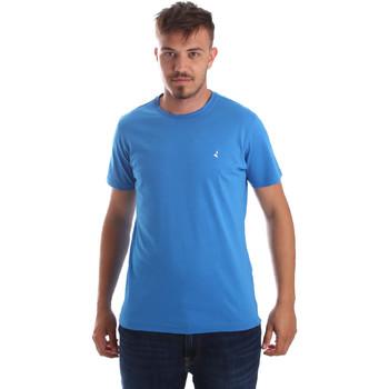 Îmbracaminte Bărbați Tricouri mânecă scurtă Navigare NV31069 Albastru