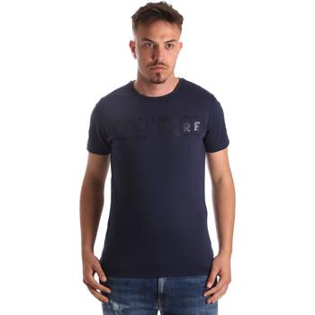 Îmbracaminte Bărbați Tricouri mânecă scurtă Navigare NV31081 Albastru