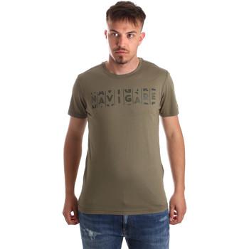 Îmbracaminte Bărbați Tricouri mânecă scurtă Navigare NV31081 Verde