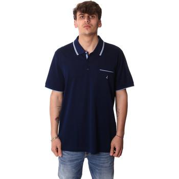 Îmbracaminte Bărbați Tricou Polo mânecă scurtă Navigare NV72045AD Albastru