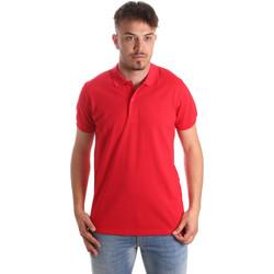 Îmbracaminte Bărbați Tricou Polo mânecă scurtă Navigare NV82001 Roșu