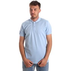 Îmbracaminte Bărbați Tricou Polo mânecă scurtă Navigare NV82001AD Albastru