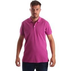 Îmbracaminte Bărbați Tricou Polo mânecă scurtă Navigare NV82086 Roz