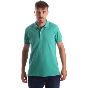 Îmbracaminte Bărbați Tricou Polo mânecă scurtă Navigare NV82086 Verde