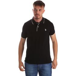 Îmbracaminte Bărbați Tricou Polo mânecă scurtă U.S Polo Assn. 50336 51263 Negru