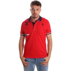 Îmbracaminte Bărbați Tricou Polo mânecă scurtă U.S Polo Assn. 41029 51252 Roșu