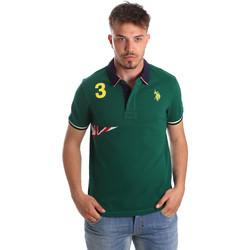 Îmbracaminte Bărbați Tricou Polo mânecă scurtă U.S Polo Assn. 41029 51252 Verde