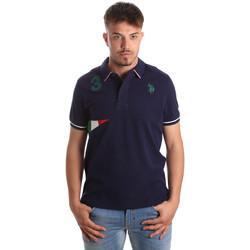 Îmbracaminte Bărbați Tricou Polo mânecă scurtă U.S Polo Assn. 41029 51252 Albastru