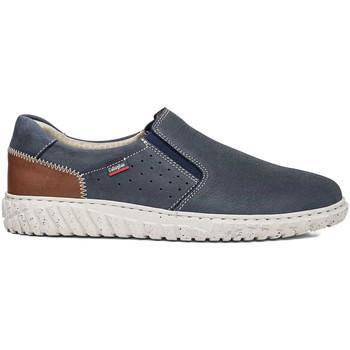 Pantofi Bărbați Pantofi Slip on CallagHan 18503 Albastru