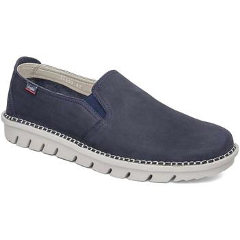 Pantofi Bărbați Pantofi Slip on CallagHan 14503 Albastru