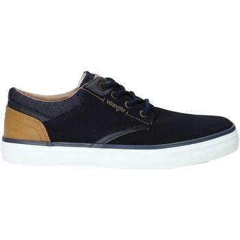 Pantofi Bărbați Pantofi sport Casual Wrangler WM91121A Albastru