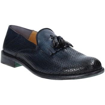 Pantofi Bărbați Mocasini Exton 3105 Albastru