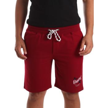 Îmbracaminte Bărbați Pantaloni scurti și Bermuda Key Up 2F26I 0001 Roșu