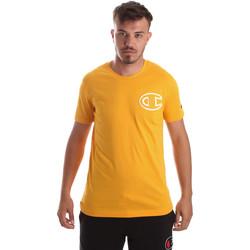 Îmbracaminte Bărbați Tricouri mânecă scurtă Champion 213251 Galben