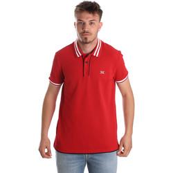 Îmbracaminte Bărbați Tricou Polo mânecă scurtă NeroGiardini P972210U Roșu