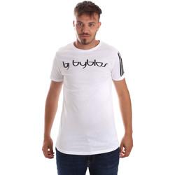 Îmbracaminte Bărbați Tricouri mânecă scurtă Byblos Blu 2MT0016 TE0046 Alb