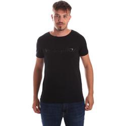 Îmbracaminte Bărbați Tricouri mânecă scurtă Byblos Blu 2MT0023 TE0048 Negru