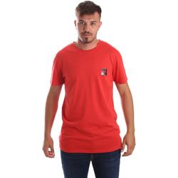 Îmbracaminte Bărbați Tricouri mânecă scurtă Byblos Blu 2MT0010 TE0045 Roșu