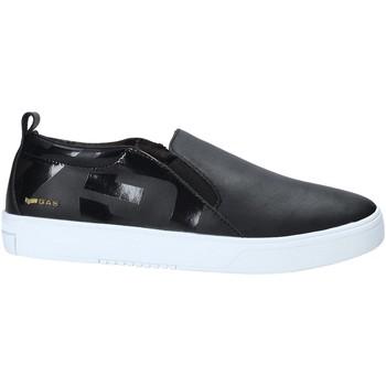Pantofi Bărbați Pantofi Slip on Gas GAM914016 Negru